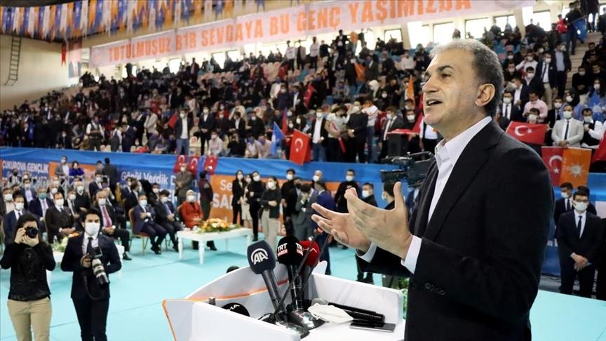 AK Parti Sözcüsü Çelik: Cumhurbaşkanı'mızın gençlere en büyük hediyesi, yeni bir anayasanın yapılmasıdır