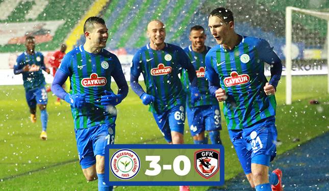 Ç.RİZESPOR 3 GAZİANTEP FK 1