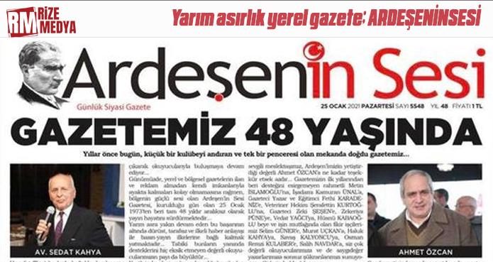 GAZETEMİZ 48 YAŞINDA