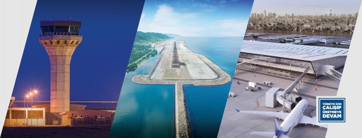 Türkiye'nin denize dolgu ikinci havalimanına ilk uçağın iniş tarihi belli oldu