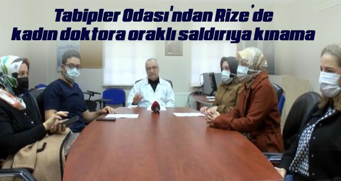 Tabipler Odası'ndan kadın doktora oraklı saldırıya kınama