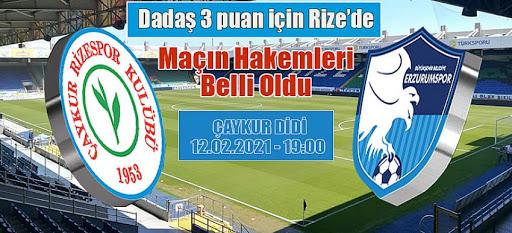 Ç.Rizespor'un Konuğu B.Belediye Erzurumspor