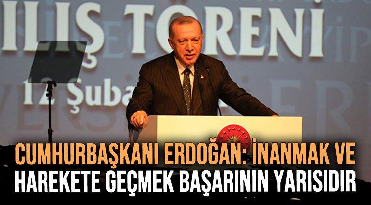 Erdoğan: İnşallah Türkiye, dünyanın en büyük 10 ekonomisi arasına da girecek, uzaya da gidecek
