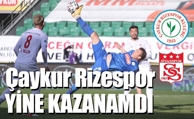 Çaykur Rizespor – Demir Grup Sivasspor: 0-0