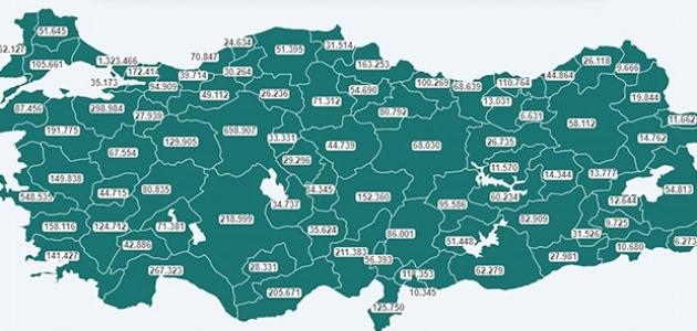 Doğu Karadeniz'de yarım milyon kişi aşılandı