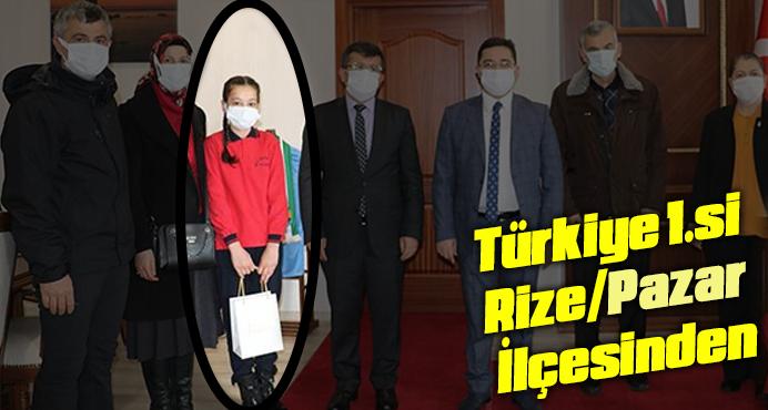 Türkiye 1.si Rize Pazar'dan