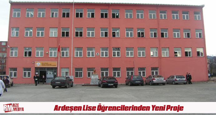 Ardeşen Mesleki Teknik Anadolu Lisesi Öğrencilerinden Yeni Proje