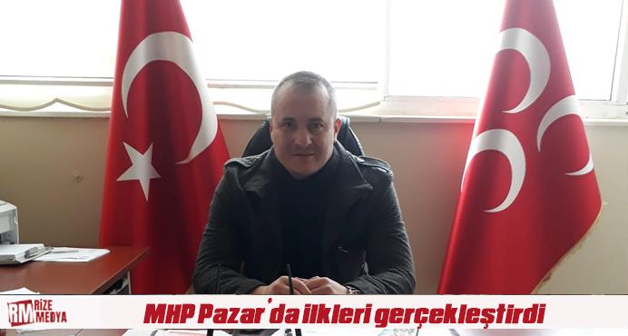 MHP Pazar'da ilkleri gerçekleştirdi