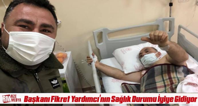 Türkiye Rafting Federasyonu Başkanı Fikret Yardımcı'nın Sağlık Durumu İyiye Gidiyor
