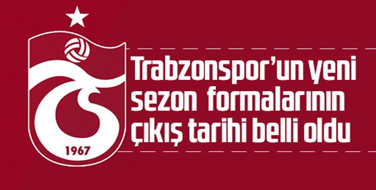 Trabzonspor'un yeni sezon formalarının çıkış tarihi belli oldu! Beklenen fiyat...