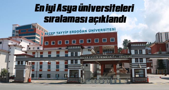 En iyi Asya üniversiteleri sıralaması açıklandı
