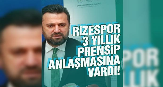 Çaykur Rizespor, Bülent Uygun ile 3 yıllık prensip anlaşmasına vardı