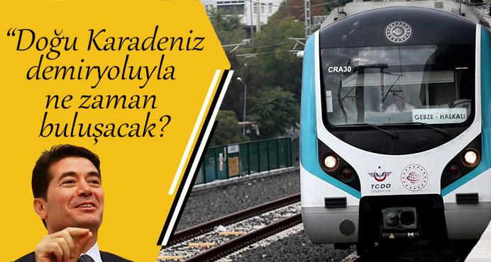 CHP Trabzon Milletvekili Ahmet Kaya:Demiryolu yok