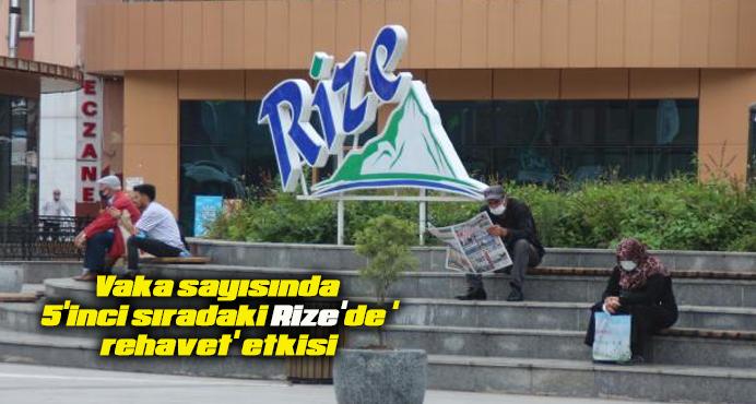 Vaka sayısında 5'inci sıradaki Rize'de 'rehavet' etkisi