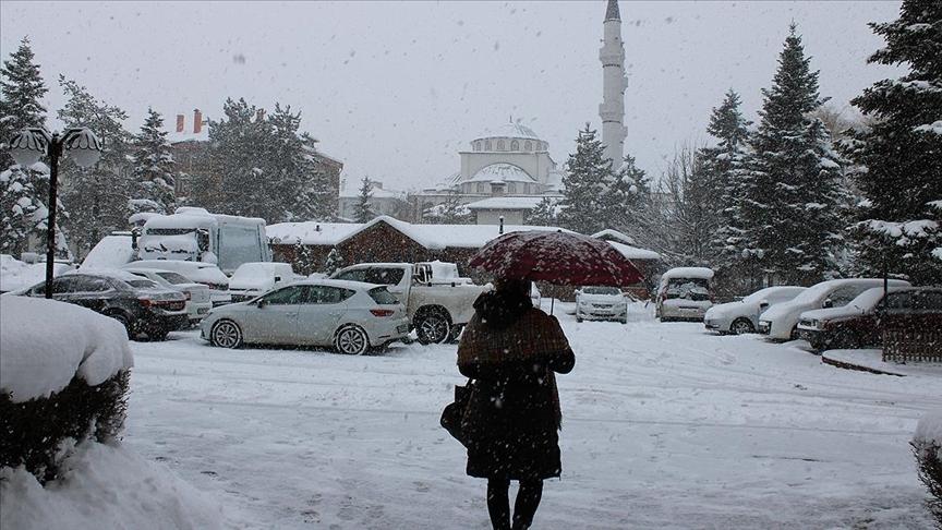 Bolu sıfırın altında 29,7 dereceyle Türkiye'nin gece en soğuk ili oldu
