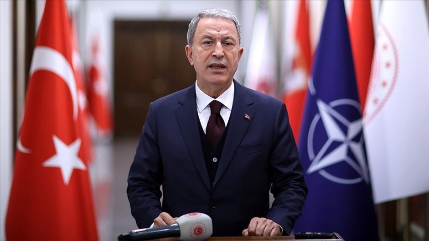 Bakan Akar NATO'nun Afganistan için gerçekleştirilen toplantısına katıldı