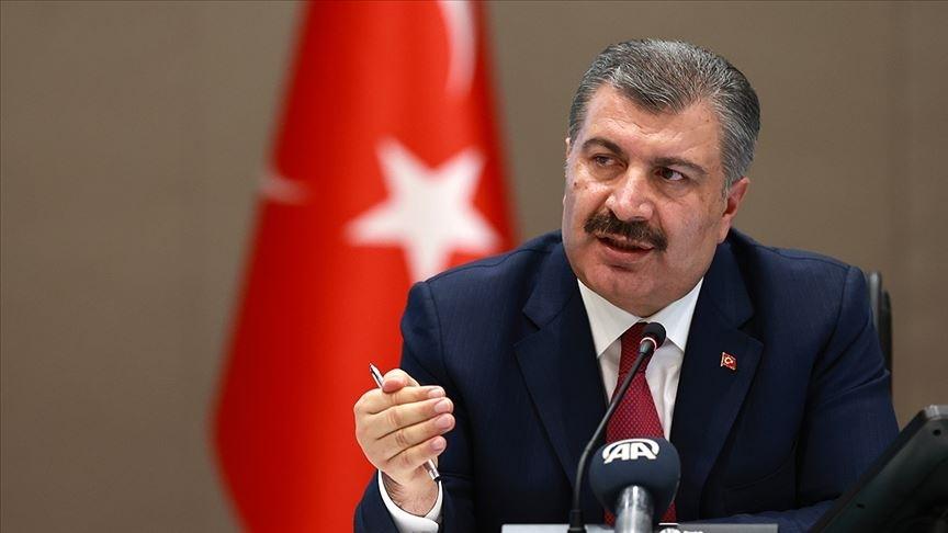 Sağlık Bakanı Koca: Yaklaşık 1.4 milyon doz kullanıma hazır BioNTech aşısı Türkiye'de