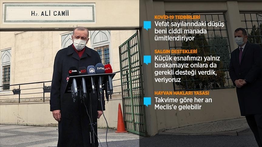 Cumhurbaşkanı Erdoğan gıda fiyatlarındaki artışla ilgili uyardı: Çok ağır cezalar sizleri bulabilir