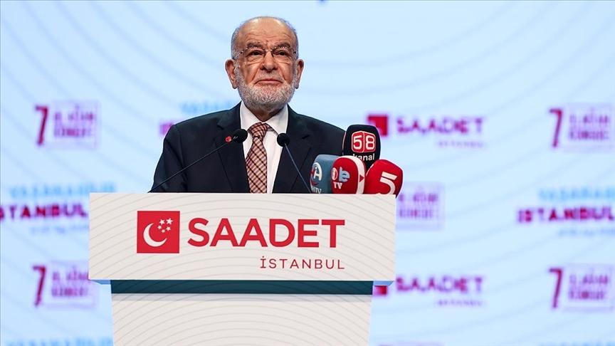 Karamollaoğlu: Saadet Partisi, huzurun, kardeşliğin, güçlü ve müreffeh bir ekonominin teminatıdır