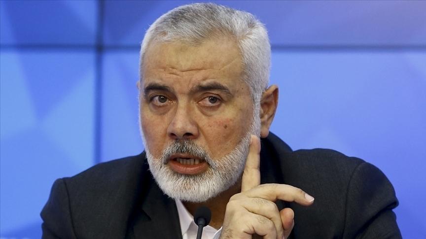 Hamas Siyasi Büro Başkanı Heniyye, İsrail Başbakanı Netanyahu'yu 'ateşle oynama' diyerek uyardı