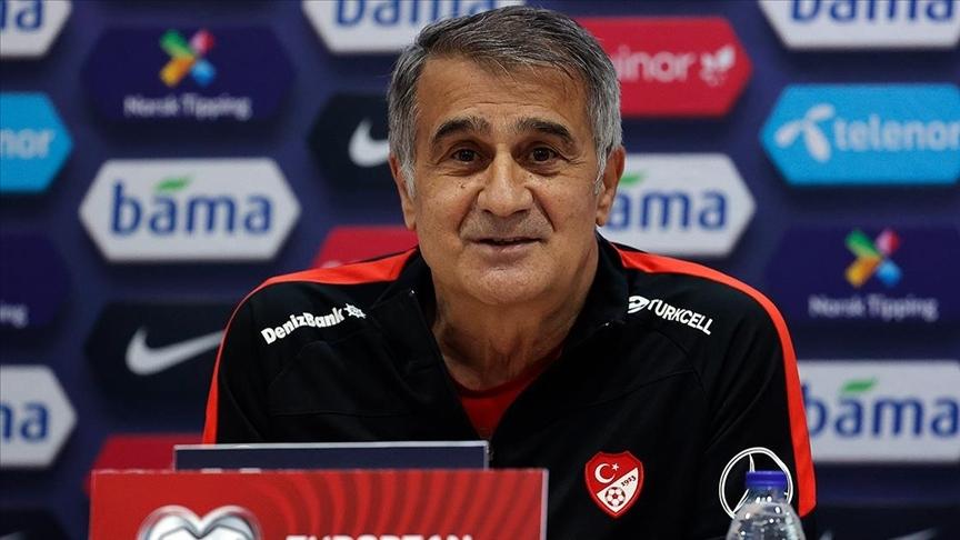 A Milli Futbol Takımı Teknik Direktörü Şenol Güneş: Kıran kırana bir maç olacak