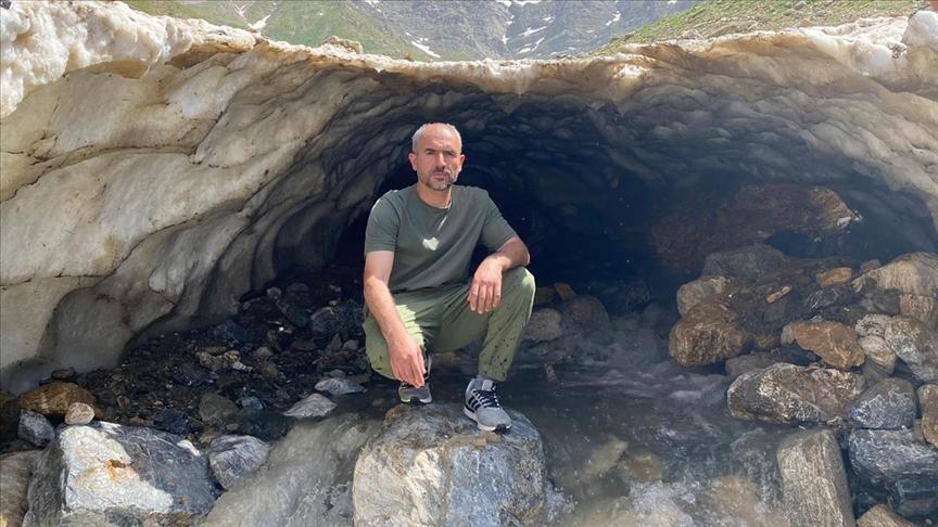 Sason'daki kardan tüneller ilgi çekiyor