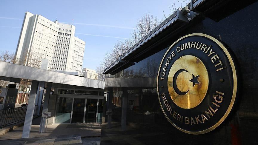 Dışişleri Bakanlığı: Sayın Macron'un Cumhurbaşkanı Erdoğan ve Türkiye'ye yönelik ithamkar açıklamaları talihsizdir