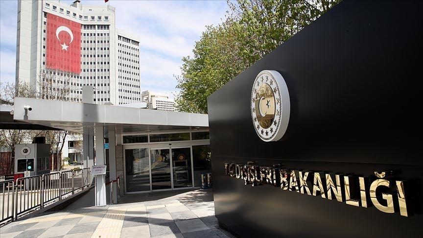 Dışişleri Bakanlığı: Yunanistan makamlarının açıklamalarını külliyen reddediyoruz