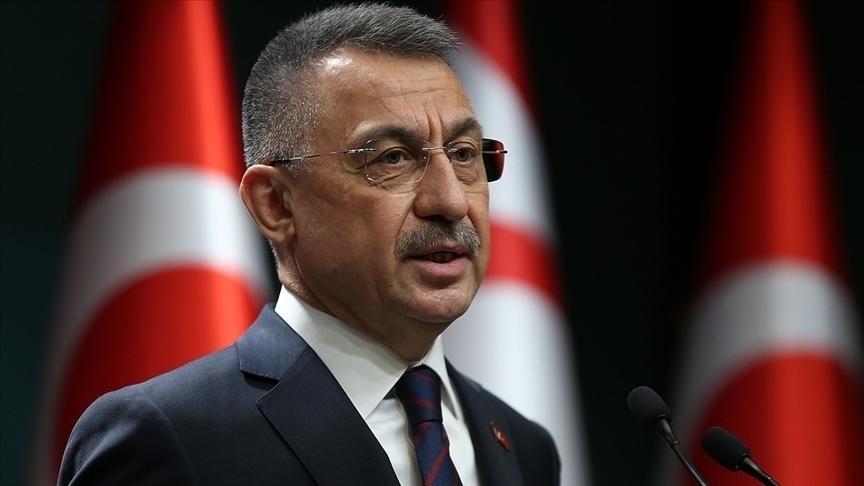 Cumhurbaşkanı Yardımcısı Oktay, İsrail'in zulmünün örtülmesinin yeni pervasızlıklara yol açtığını söyledi