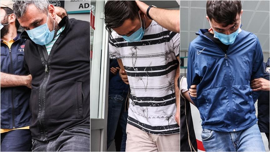 İstanbul'da plastik patlayıcı ele geçirilmesine ilişkin gözaltına alınan 3 şüpheli tutuklandı