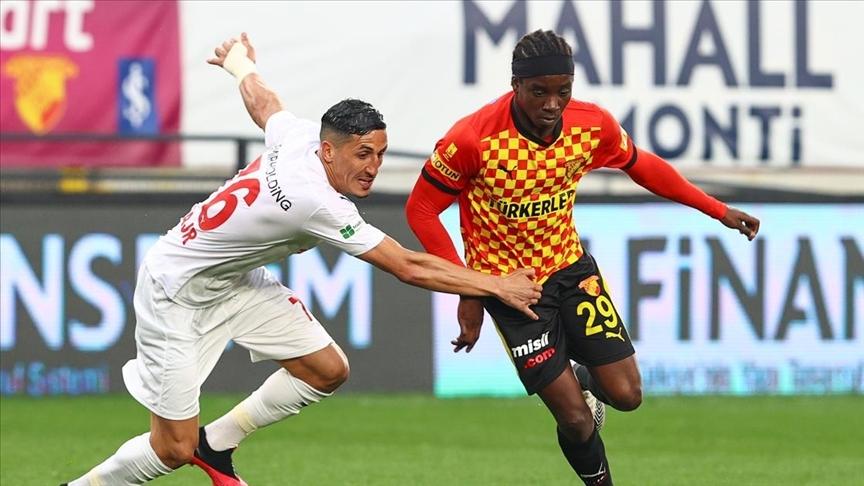 Göztepe'nin Süper Lig'deki 1000. golünü Fousseni Diabate attı