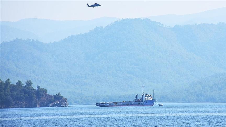 Bir ton uyuşturucunun ele geçirildiği Commander Tide gemisi satışa çıkarıldı