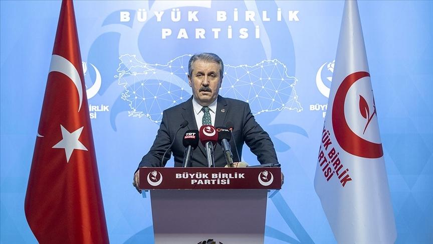 BBP Genel Başkanı Destici: HDP hiçbir zaman bir siyasi parti olmamıştır