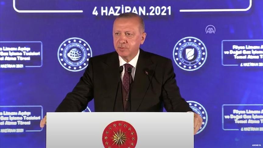 CANLI - Cumhurbaşkanı Erdoğan: Amasra -1 kuyusunda 135 milyar metreküplük yeni bir doğal gaz keşfi daha yapıldı