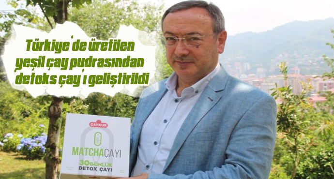 Türkiye'de üretilen yeşil çay pudrasından 'detoks çay'ı geliştirildi