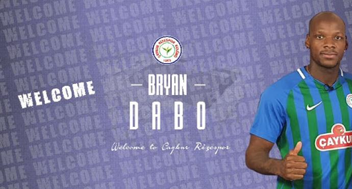 Çaykur Rizespor, Bryan Dabo ile anlaştı
